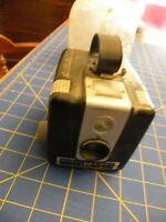 Vintage 1950s Kodak Brownie Hawkeye Flash Model Camera Bakelite W/ FLASH GUARD