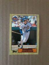 1987 Topps Howard Johnson New York Mets #267 Baseball Card
