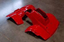 HONDA TRX 125 85 - 86 PLASTIC FRONT AND REAR FENDER SET TRX125 PLASTICS