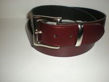 Cinturones de hombre de piel