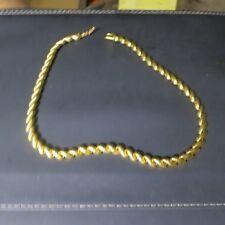 "Vintage Costume Jewelery- Napier Necklace 16""- Gold tone- lot napier02"