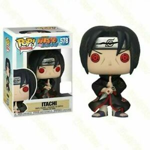 Funko Pop Naruto Shippuden Itachi #578 Vinyl Exclusive Model Action Figure Toys
