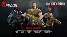 Gears of War 4 DLC Outsider Lancer skin+Bros to the end elite gear pack XBox one
