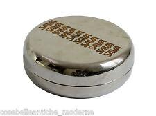 Set Portaoggetti SAVA con Piatto Quadrato in Metallo Metal Space Age Box '60/70