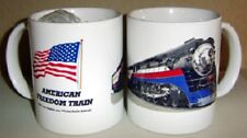 SOUTHERN PACIFIC FREEDOM TRAIN COFFEE MUG  / SP Daylight / Java, Tea , Drinkware