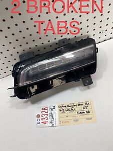 2014 2015 2016 2017 2018 2019 CADILLAC CTS RIGHT SIDE DAYTIME RUNNING LIGHT OEM