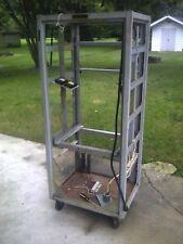 Vintage Western Electric Wheeled Cart / Rack Used for Ham Radio Set Up (Pick~Up)