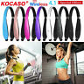 Retractable Wireless Headset Foldable Headphone Sport Neckband Stereo Earbuds