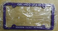 Orlando City SC License Plate Frame soccer MLS  Season Ticket Holder model