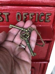 Spare Keys For Royal Mail Post Box Reproduction