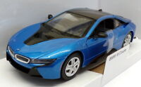 Motor Max 1/24 Scale Model Car 79359BL - BMW i8 Coupe - Blue