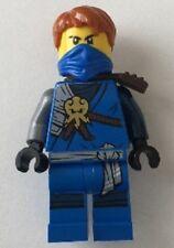 Genuine Lego Ninjago minifigure Jay blue ninja w hair from 70596 mini figure BN