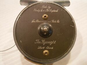 HARDY BROS. FLYWEIGHT REEL AMBERCROMBE & FITCH