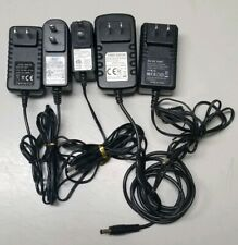 Lot of (5) Power Supply Adapter plug 100-240 Volt AC to 12 volt DC