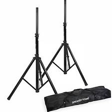 PA Speaker Stands & Premium Carry Case - Free UK Delivery - (ADAM HALL SPS023)