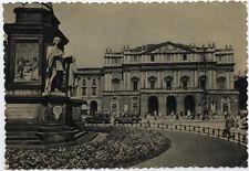 cartolina MILANO piazza della scala