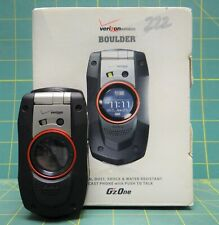 Verizon Wireless Casio G'zOne Boulder C711SLXB Rugged Flip-phones *Sold As Is*