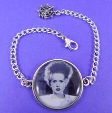 La moglie di Frankenstein bracciale Kitsch Vintage Horror gotico psychobilly Shelley