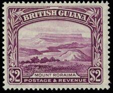 "BRITISH GUIANA 240a (SG318a) - King George VI ""Mount Roraima"" (pb21945)"