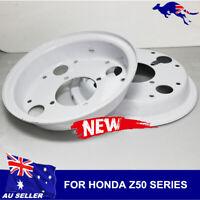 2pcs White Motorcycle Wheel Rim for Honda Monkey Gorilla Z50A Z50 Z50J Z