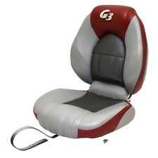 G3 Boat Folding Fishing Seat 73520396   Centric Gray Red