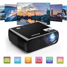 1080P 3D Proiettore LED Videoproiettore Full HD 1080P HDMI Altroparlanti Stereo