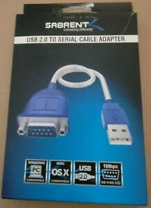 SABRENT USB 2.0 to SERIAL CABLE ADAPTER
