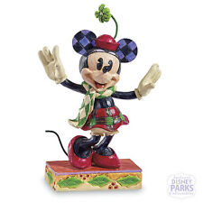 Disney Parks Merry Minnie Mouse Traditions by Jim Shore Figurine Statue