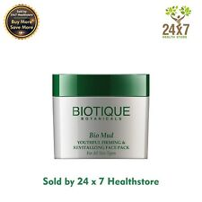 (Biotique) Bio Mud Youthful Firming & Revitalizing Face Pack 75gm Wrinkle Cream