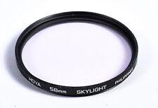 Hoya 58mm Skylight Multi-coated Screw-In Glass Lens Filter EX