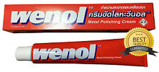 WENOL METAL POLISH 100 g.TUBE CREAM CLEANER BRASS SILVER COPPER  STAINLESS +++