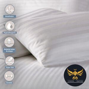 Pillows Striped Luxury Ultra Loft Jumbo Super Bounce Back Pillows - 2, 4, 6 Pack