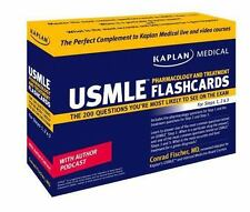 Kaplan Medical USMLE Pharmacology and Treatment Flashcards, Conrad,Conrad Fische