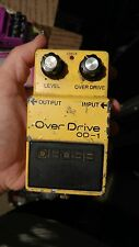 1978 BOSS OD-1 Overdrive pedal 14 pin chip rare holy grail vintage mom a. Screw