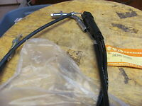 NOS OEM Suzuki Throttle Cable GT185 1973-77 58300-36001