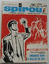 JOURNAL SPIROU N°1643 LE FAISEUR D'OR/STANY DERVAL 1969 BON ETAT