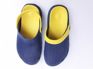 BaY Blue Clogs Adult size 8