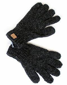 Herrlich warme handgearbeitete Fingerhandschuhe Nepal 100% Wolle teilgefleect
