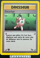 Carte Pokemon RECYCLAGE 61/62 Commune Fossile Wizard EDITION 1 FR