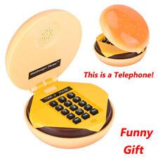 WX-3019 Teléfono con cable Hamburguesa Teléfono de escritorio Teléfono fijo
