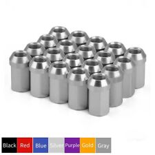 20pcs Extended Racing Acorn Lug Nuts M12x1.5 Aluminum Cone Seat Rims Tuner 32mm
