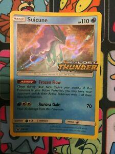 Pokemon TCG - Suicune - Prerelease Promo - Lost Thunder - SM149