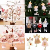 Christmas Angel Doll Toy Gift Christmas Tree Pendants Ornaments Home Decoration
