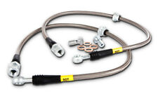StopTech Stainless Steel Front Brake Lines For Ford 13+ Focus ST