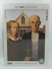 Eurographics Puzzle American Gothic 1000 Pieces Grant Wood
