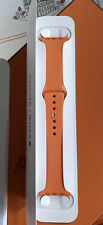 Apple Watch Hermés 44/42mm Exklusive Limitierte Edition-Sportband Hermés Orange-