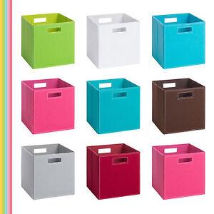 (Storanda) 10-er Set | Aufbewahrungsbox PIA | Filz | 28x28x28 cm | Abverkauf