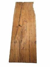 Oliven Brett Holz Olivenholz Kleinteile 116x38/43cm 17/21mm