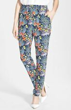 Marc Jacobs 'Maddy Botanical' Print 100% Silk Pants 4 NWT! $298