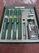 4 Piece Faber Castell Tgi-S Pen Set D-30